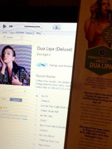 Glossies Made Me Do It: Dua Lipa's Debut Album - Shooting