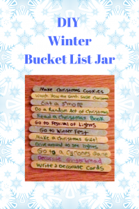 DIY Winter Bucket List Jar
